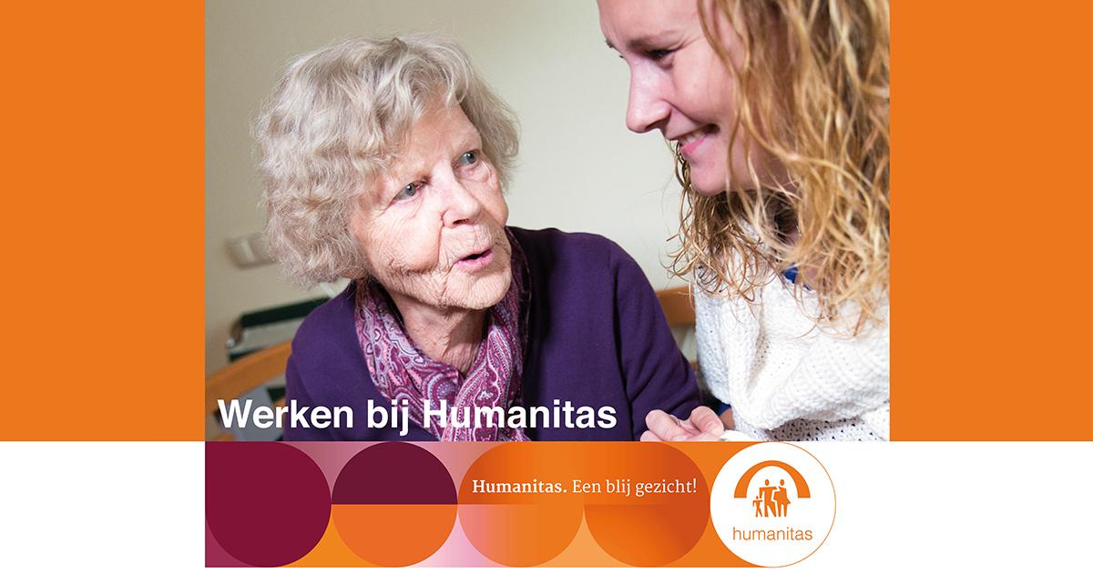 Verzorgende IG Kortdurend Verblijf Stichting Humanitas Rotterdam De Wende uren in onderling overleg