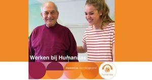 Verpleegkundige niveau 4, Stichting Humanitas Spijkenisse Terras aan de Maas Zorg Met Verblijf (intramuraal),  32-36 uur in wisselende diensten