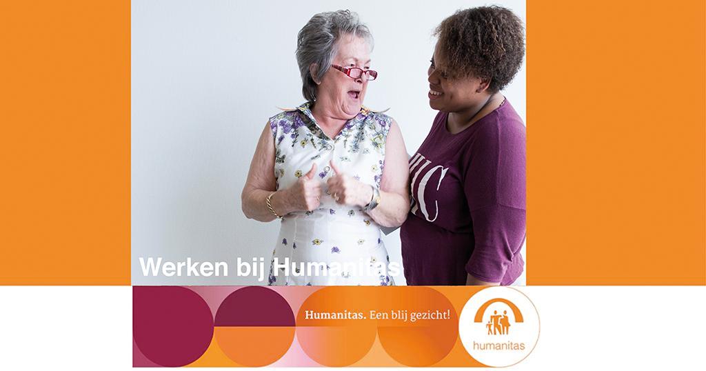 Verzorgende IG Stichting Humanitas Rotterdam Berberishof, Zorg met verblijf (IMZ), 24-32 uur per week