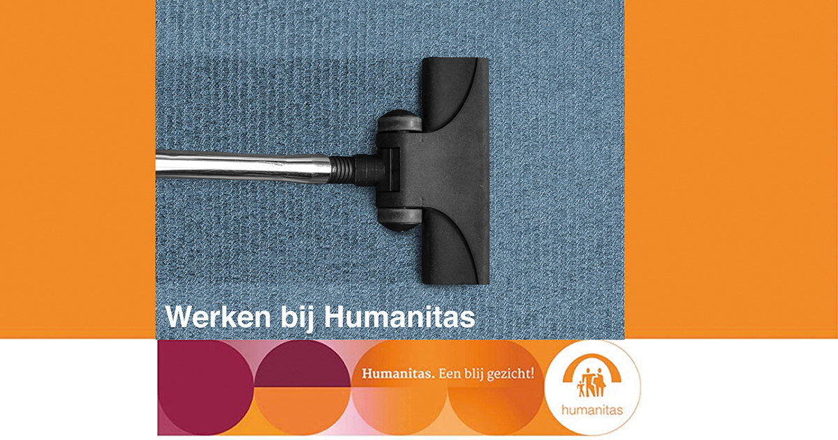 Medewerker Huishoudelijke Ondersteuning Stichting Humanitas Rotterdam (Rozenburg), oproep