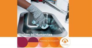 Medewerker Huishoudelijke Ondersteuning Stichting Humanitas Rotterdam (oproep)