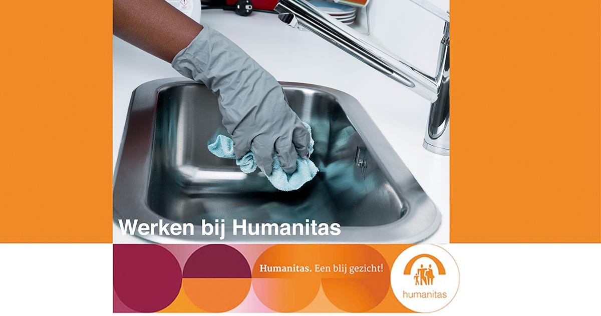 Huishoudelijke Ondersteuning Plus Medewerker, Stichting Humanitas Rotterdam, uren in onderling overleg