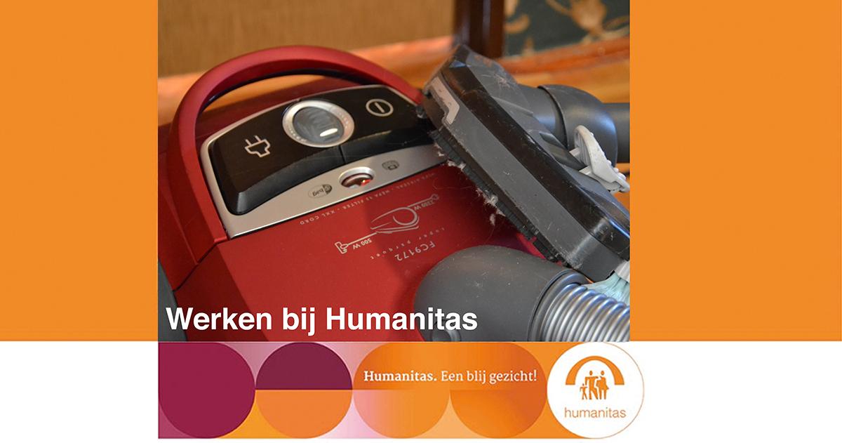 Medewerker Huishoudelijke Ondersteuning Stichting Humanitas Rotterdam, uren in onderling overleg