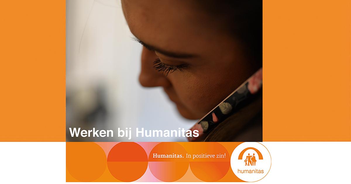 Verzorgende IG voor het Mobiele Zorgteam Stichting Humanitas Rotterdam (uren in overleg )