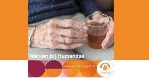Verzorgende IG Stichting Humanitas, Zorg Thuis, Delfshaven in Rotterdam, 20-24 uur per week