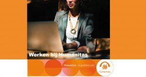 Planner Stichting Humanitas Rotterdam, Zorg met verblijf (IMZ), 24-28 uur per week binnen het team van de locaties Gerard Goosen, Kristal en Berberishof