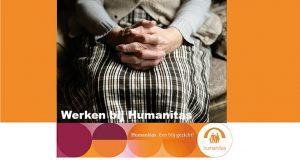 Verzorgende IG Stichting Humanitas, Zorg Thuis, Het Oude Noorden in Rotterdam, 20-24 uur per week