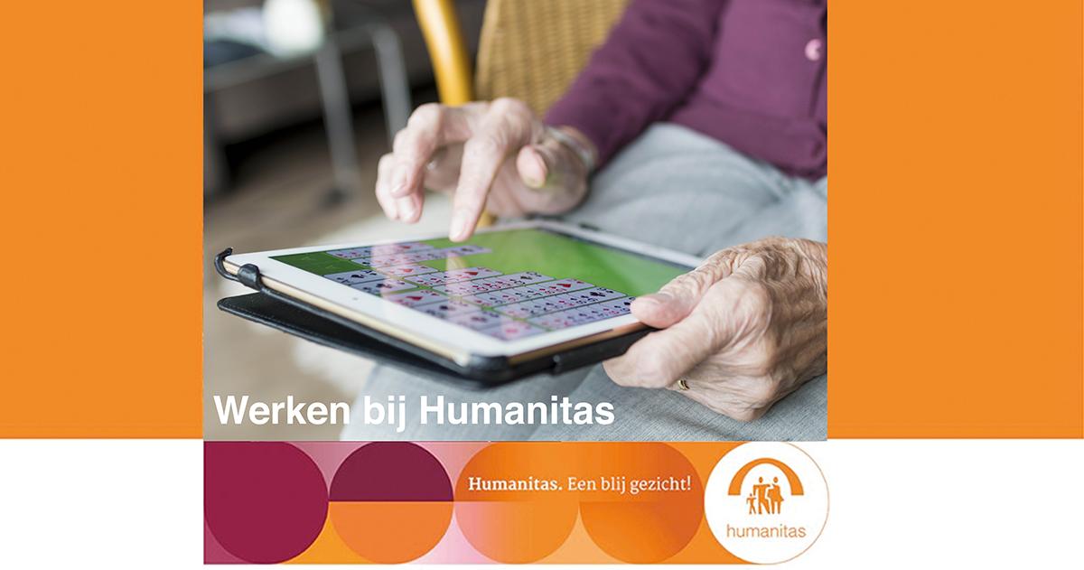 Verzorgende IG Stichting Humanitas de Berberishof Rotterdam- Schiebroek Zorg met Verblijf (IMZ) 16 – 32 uur per week (mogelijkheid om alleen tijdens avonden of alleen in de weekenden te werken)
